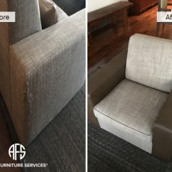 How Do I Repair A Tear In Leather Sofa Blacksmith Conference 2017 Gallery, Before After Pictures | All Furniture Services ...