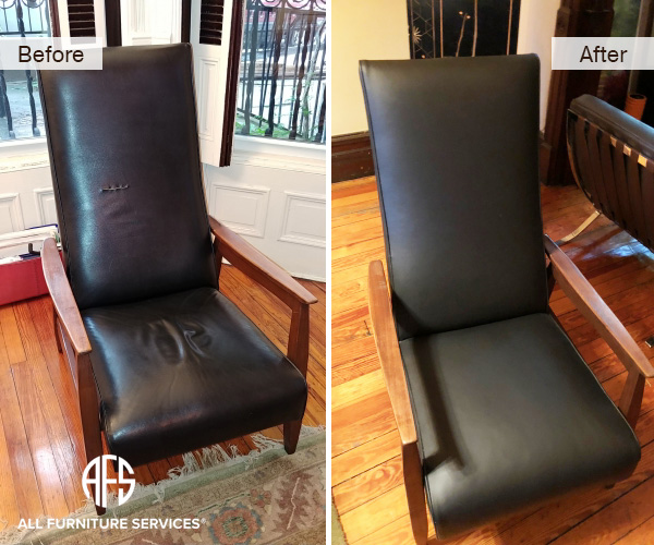 how to fix tear leather sofa bed in a box uk gallery, before after pictures | all furniture services®