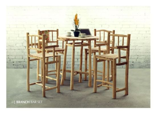 Branch Bar Set Dining Teak Branch Furniture Wholesale