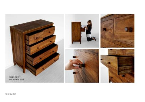 Chika Chest Wooden Furniture Wholesale