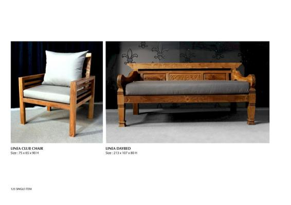 Linea Chair And Linea Daybed