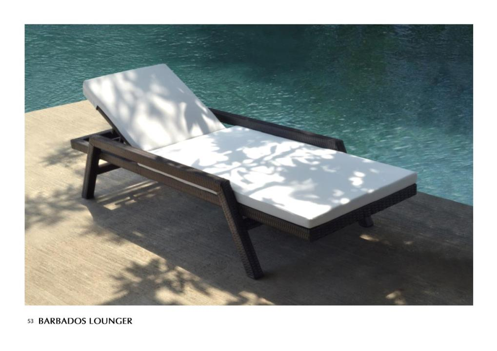 Outdoor furniture, lounger, patio furniture, Mezza Lounger Synthetic Outdoor Furniture Wholesale