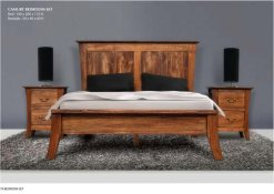 Camury Wooden Teak Bedroom Sets furniture