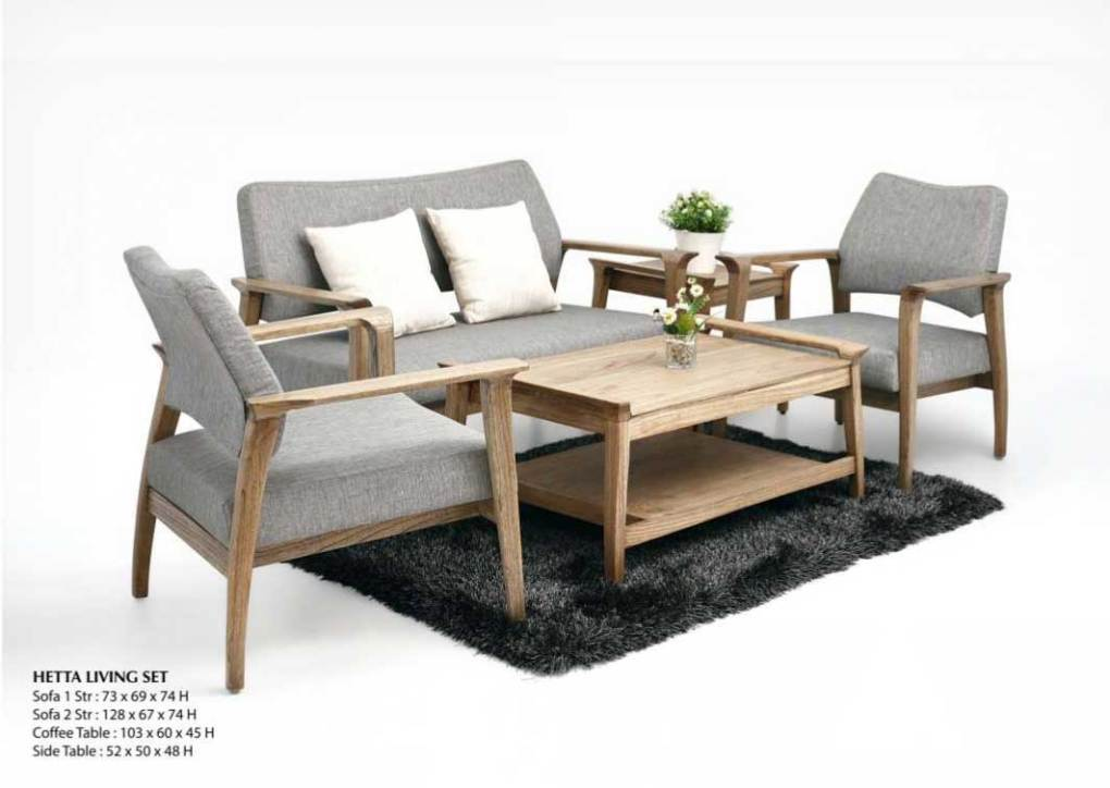 Hetta Living Wooden Furniture Set