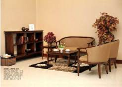 Josela Wood Furniture Living Sets
