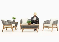 Valleta Living Set - Indonesia Outdoor furniture wholesale