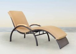 Chaise Lounger Synthetic Furniture, Outdoor furniture