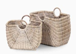 Elis Magazine Basket Set Of 2