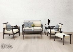 Pavita Wooden Living Set, Wholesale wooden furniture