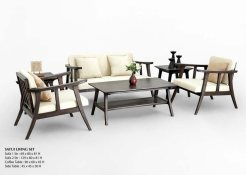 Satui Wooden Living Set
