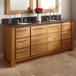 Modern Teak Bathroom Cabinet Furniture