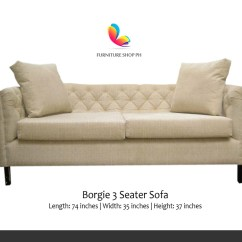 3 Seater Recliner Sofa Sale Corner Less Than 200 Cm And Couch For Furniture Shop Ph