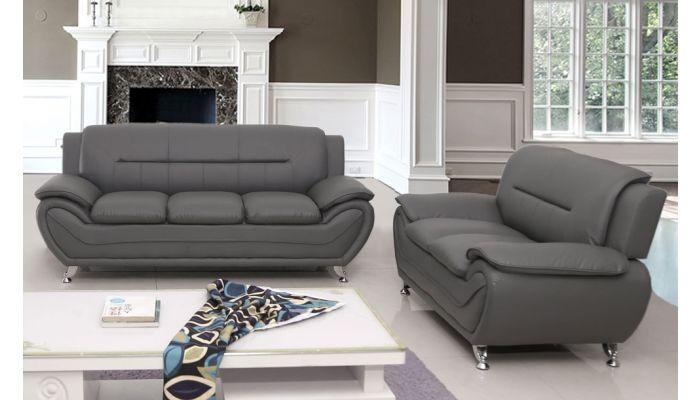 بجعة مكثف متاخم gray leather sofa modern