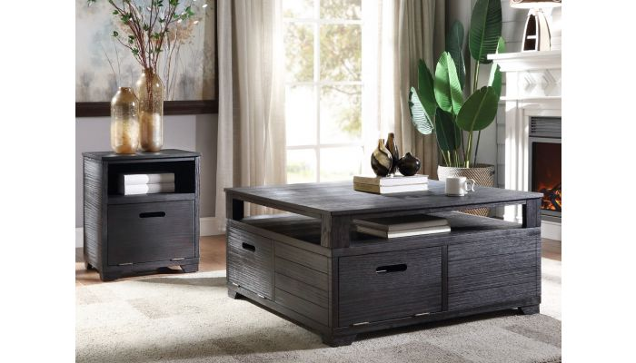 sarita square storage coffee table