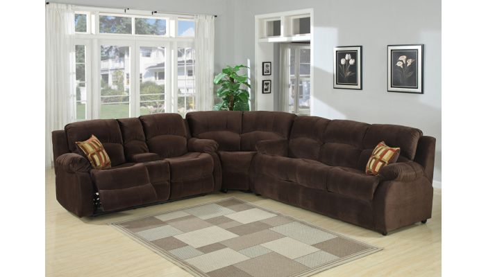 tracey recliner sleeper sectional sofa