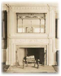 Federal Fireplace Mantel in the Adam Style.