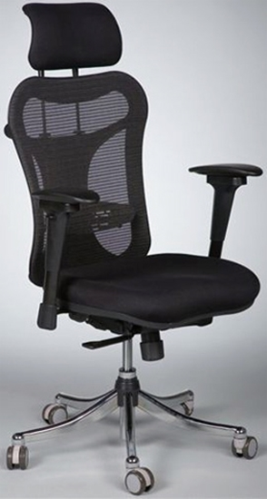 balt posture perfect chair outdoor cushions with ties 34434 black mesh office picture of