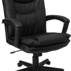 Black Leather Desk Chairs Silver Chair Covers Uk Office Furniture Wholesalers Picture Of Flash Bt 2921