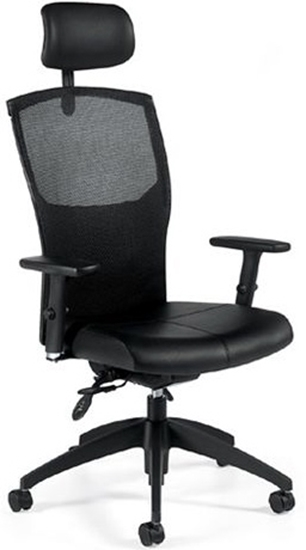 executive mesh office chair pier one chairs 1960lm 3 global back picture of