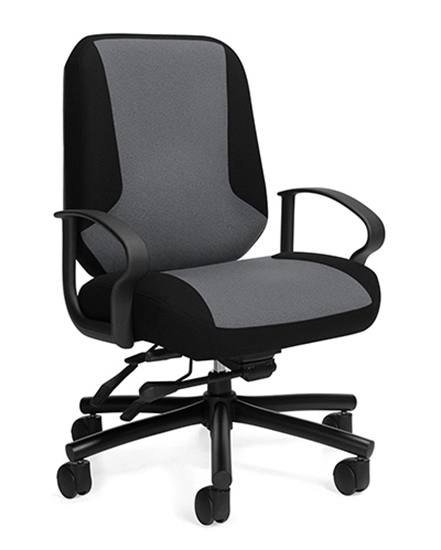 big and tall outdoor chairs 500lbs rocking chair arm cushions global 2527 robust office picture of