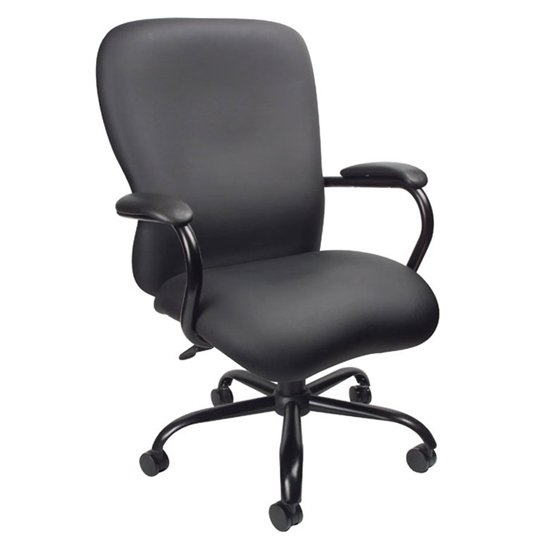 big and tall office chairs high chair that sits on boss b990 black picture of cp