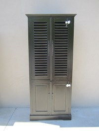 Four Door Louvered Cabinet - Nadeau Raleigh