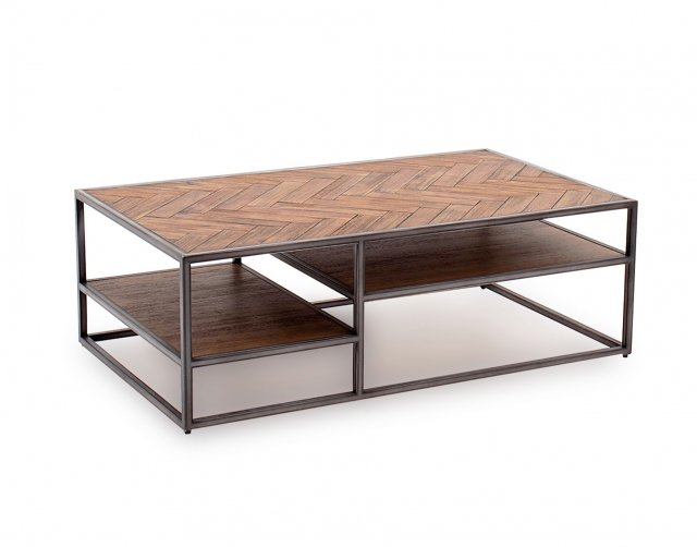 vermont coffee table in light brown furniture world