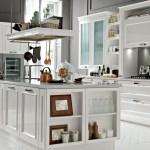Cucina Febal modello Romantica Bianco lucido