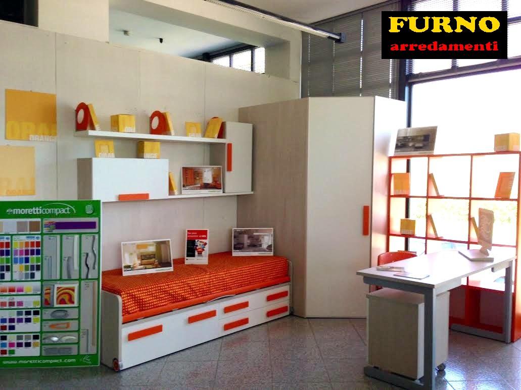 Moretti compact cameretta cabina wide furno for Mandi arredamenti benevento