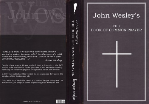 John Wesley's The Book of Common Prayer Cover Design