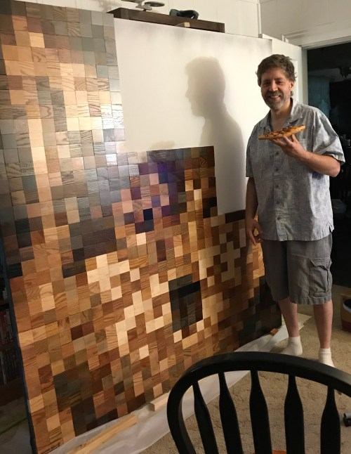 Artist and Mosaic