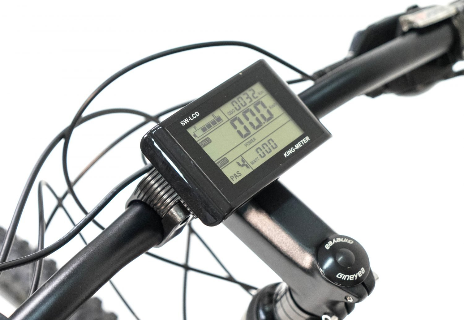 Electric mountain bike LCD screen