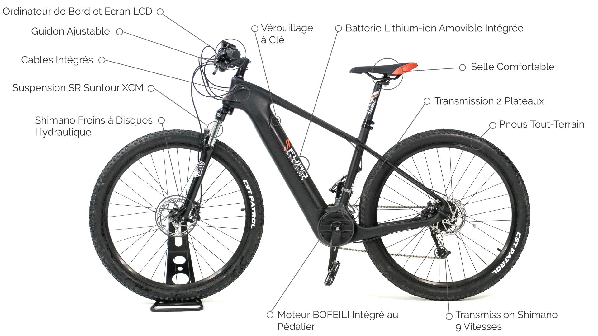 VTT électrique SIERRA caractéristiques