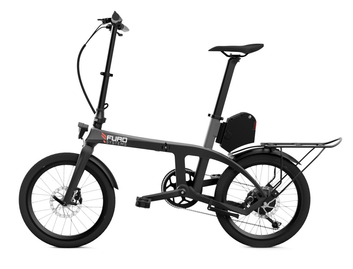 FuroSystems FX Folding Electric Bike with Accessories