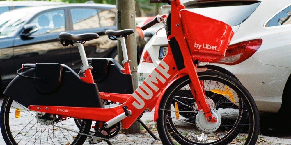 Electric bike sharing service