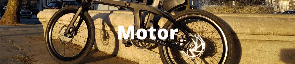 Electric bike terminology motor