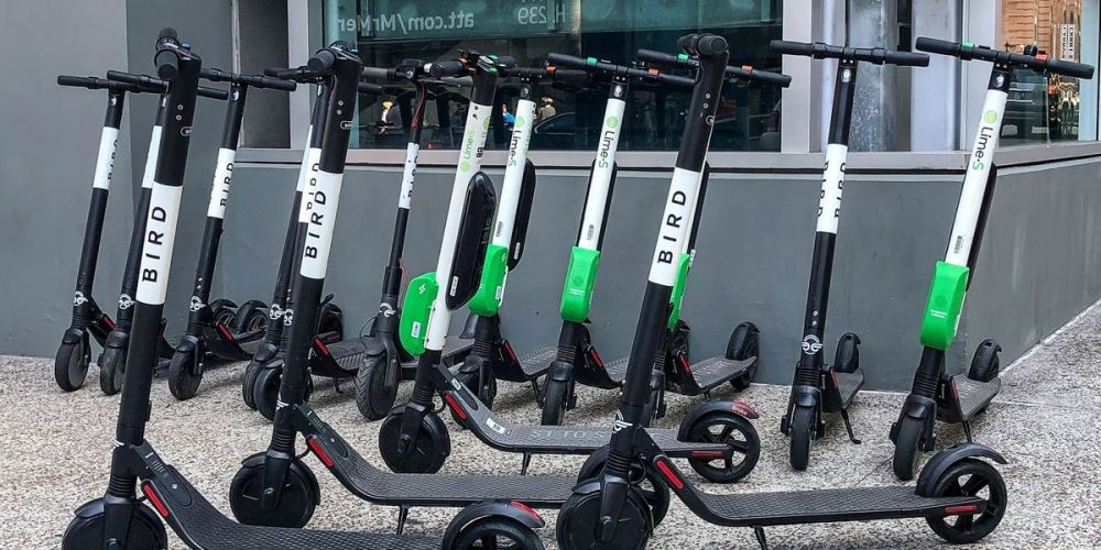 Dockless electric bikes