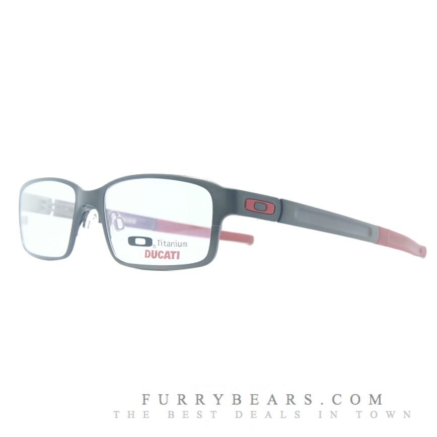 ee33913c02212 Oakley Deringer Ducati Red Prescription Glasses