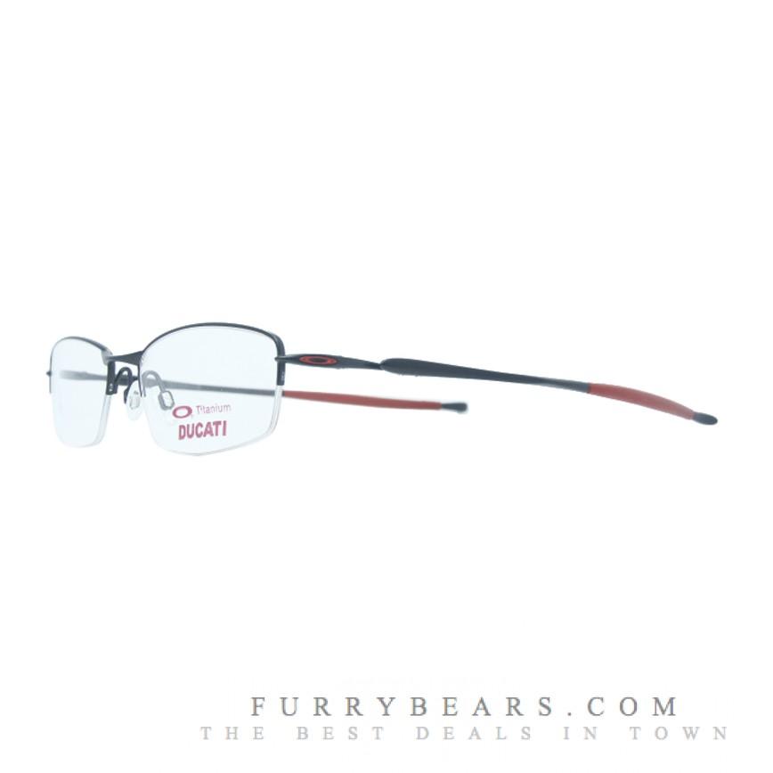 80a8ed6eb195e Oakley Transistor Ducati Red Prescription Glasses