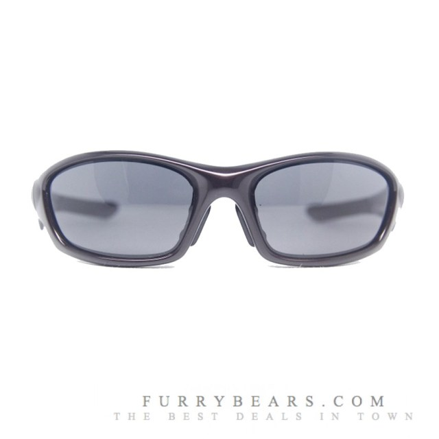 OAKLEY STRAIGHT JACKET (ASIAN FIT) SUNGLASSES – BLOOD & GREY COLOUR - furrybears