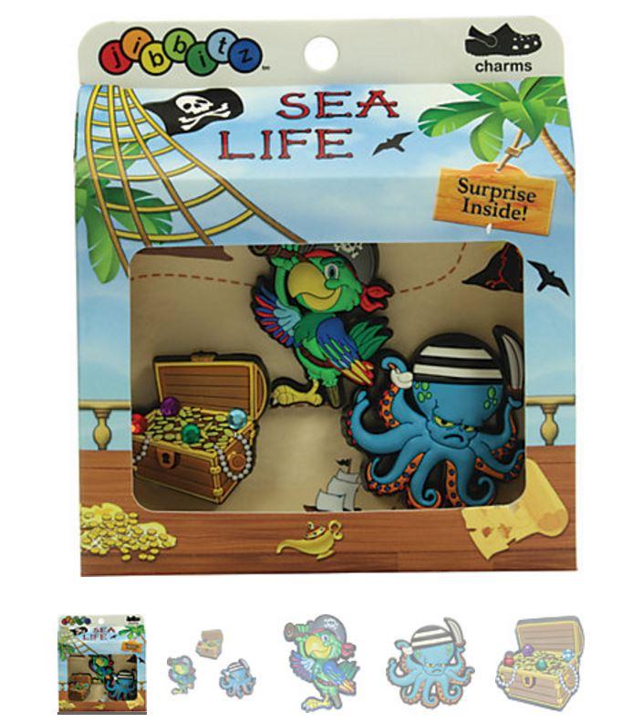 2136514d35d0bd Sea Life Boys  3-pack Crocs Shoe Charms