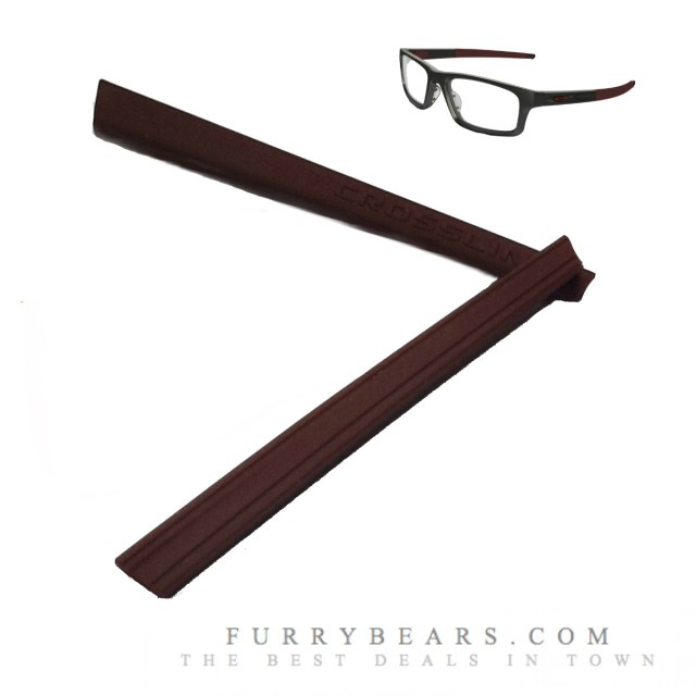 Crosslink Oakley Maroon rubber kit replacement singapore