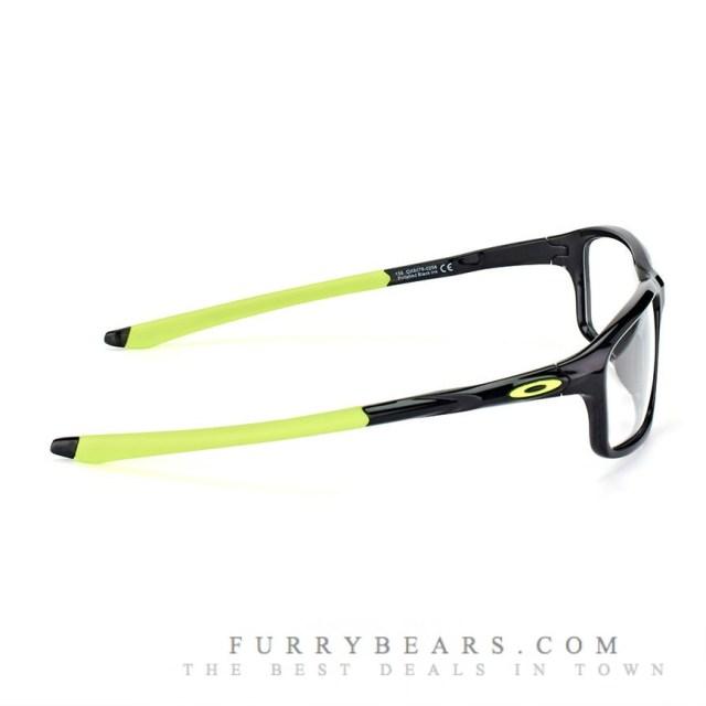 Oakley Crosslink Zero OX 8076 02 polished black ink dazzling green 1