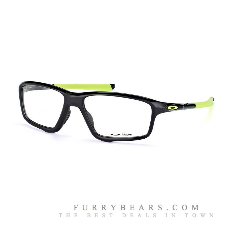 Oakley Crosslink Zero OX 8076 02 polished black ink dazzling green