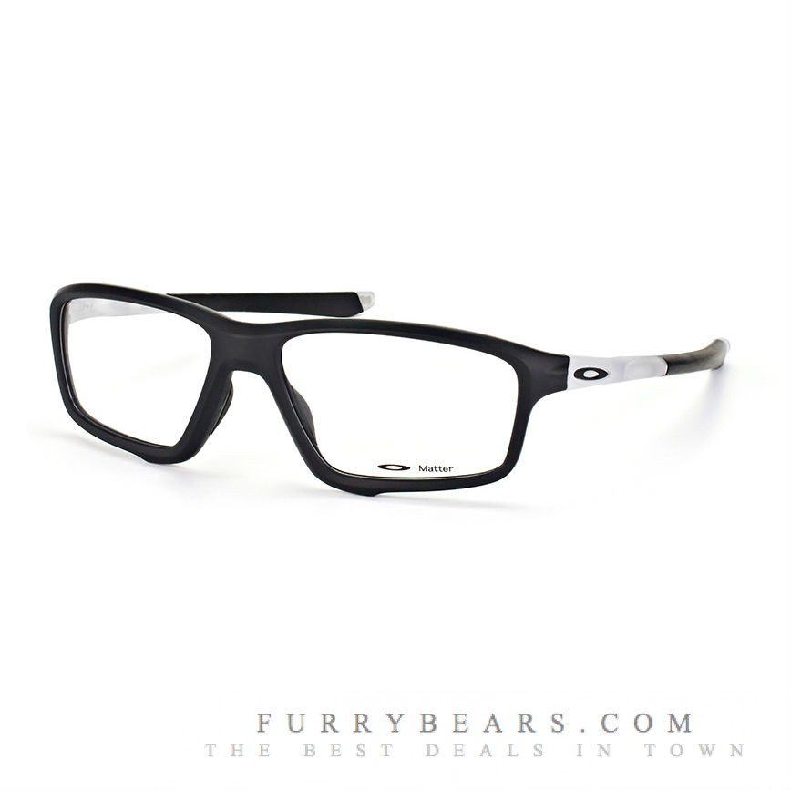 335012d1658 Oakley OX8080 CROSSLINK ZERO Asian Fit 808003 Black Transparent ...