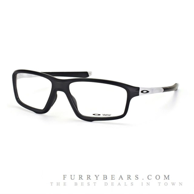 Oakley Crosslink Zero OX 8076-03 Black Transparent Matte ...