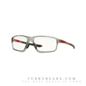 Oakley OX8080 CROSSLINK ZERO Asian Fit 8080-04 Polished Grey Shadow Crystal