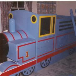 Thomas Train Chair Jazzy Power Parts The Tank Engine Bed Furst Woodworking
