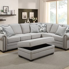 Montreal Sectional Sofa In Slate Cleaning Los Angeles Ca Home Furtado Furniture