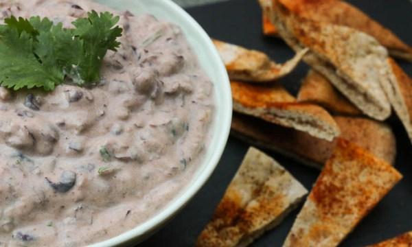 Greek Yogurt Black Bean Dip Further Food